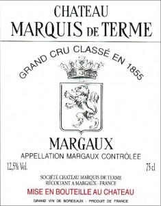 Château Marquis de Terme, Margaux