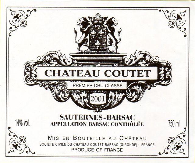 Château Coutet, Barsac