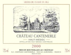 Château Cantemerle, Haut-Médoc