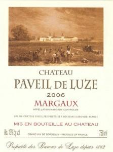 Château Paveil De Luze, Margaux
