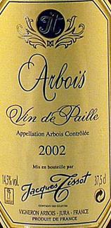 arbois vin de paille