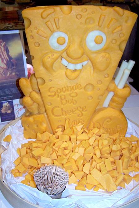 bob eponge fromage