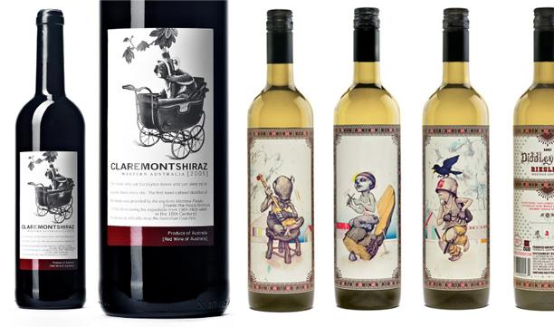 etiquete vin