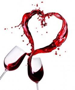 vin coeur amour