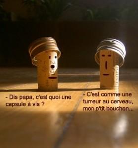 bouchon capsule