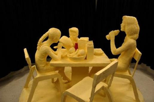 sculpture beurre